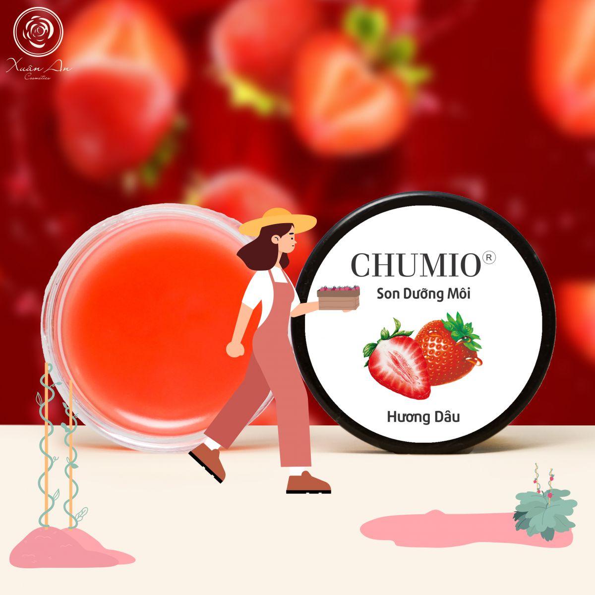Combo dưỡng môi Chumio